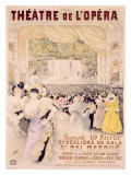 Theatre de l'Opera Giclee Print by Henri Gray