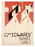 Gus Edwards' Matinee Girls Gicléedruk