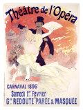 Theatre de l'Opera, Carnaval, 1896 Giclee Print by Jules Chéret
