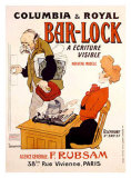 Bar-Lock Giclee Print by  Grignon