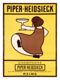 Piper-Heidsieck Giclee Print