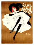 Jane Avril Giclee Print by Maurice Biais