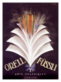 Orell Fussli Giclee Print by Charles Loupot