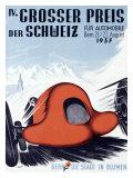 IV Grosser Preis Der Schweiz Giclee Print by  Thoni