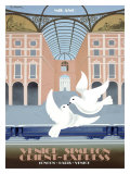 Milano Orient Express Giclee Print by Pierre Fix-Masseau