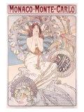 Monaco, Monte Carlo Giclee Print