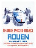 Rouen F1 Grand Prix, c.1965 Giclee Print by Michel Beligond