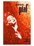 Edith Piaf Gicl&#233;e-Druck von John Douglas