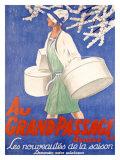 Emil Cardinaux - Au Grand Passage - Giclee Baskı