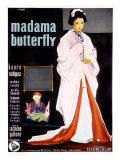 Madame Butterfly Giclee Print by Ercole Brini
