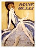 Diane Belli Giclee Print by Jean-Gabriel Domergue