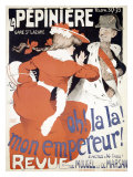 La Pepiniere, Oh la La Mon Empereur Giclee Print by Jules-Alexandre Gr&#252;n