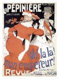 La Pepiniere, Oh la La Mon Empereur Giclee Print by Jules-Alexandre Grün
