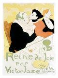 Reine de Joie Giclee Print by Henri de Toulouse-Lautrec