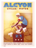Alcyon Cycles-Motos Giclee Print by G. Favre