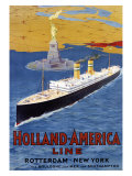 Holland to America Line Giclee Print