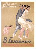 Damen Strumpfe B. Fehlbaum Giclee Print by Emil Cardinaux