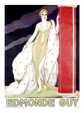 Edmonde Guy Giclee Print by Umberto Brunelleschi