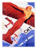 C.N.T., Loor a Los Heroes Giclee Print by Arturo Ballester