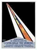 Coppa della Tre Venezie Giclee Print by Primo Sinopico