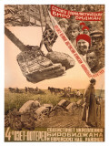 Stroite Socialisticheskij Birobidzhan Giclee Print by Mikhail O. Dlugach
