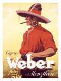 Cigares Weber, Menziken Giclee Print