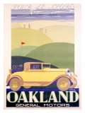 Oakland, General Motors Giclee Print