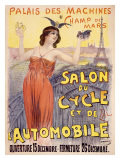 Salon du Cycle et de Automobile Giclee Print