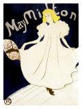 May Milton Giclee Print by Henri de Toulouse-Lautrec