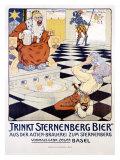 Trinkt Sternenberg Bier Giclee Print