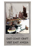 East Coast Craft, East Anglia Giclee Print by Frank Mason