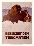 Besochet Den Tiergarten Giclee Print by Ludwig Hohlwein