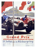 Grand Prix d&#39;Allemagne Giclee Print by Alfred Hierl