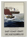 East Coast Craft, Northumberland Giclee Print by Frank Mason