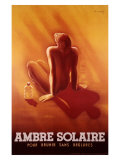 Ambre Solaire Giclee Print by Charles Loupot