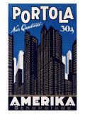 Portola Amerika Giclee Print