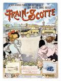 Train Giclee Print by Henri Gray