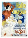 Halle aux Chapeaux, Depuis 3F60 Giclee Print by Jules Chéret