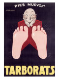 Tarborats Giclee Print by Achille Luciano Mauzan