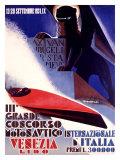 3rd Concorso Motonautico di Venezia Giclee Print by Giuseppe Riccobaldi