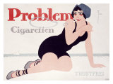 Problem Cigaretten Giclee Print by Fries 