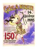 Cycles Mercier Giclee Print by G. Berni