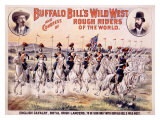 Buffalo Bill's Wild West, Cavalry Lancers Giclee Print