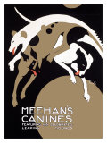 Meehans Leaping Hound Dog Circus Reproduction proc&#233;d&#233; gicl&#233;e par Alfonso Iannelli