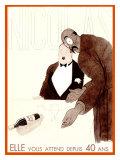 Nicolas Giclee Print by Paul Iribe