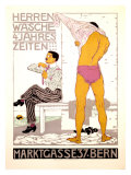 Herrenwasche, 4 Jahreszeiten Giclee Print by Burkhard Mangold