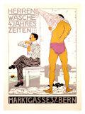 Herrenwasche, 4 Jahreszeiten Giclee Print by Burkhard Mangold