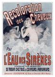 L'Eau des Sirenes Giclee Print by Jules Chéret