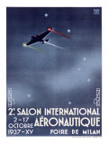 Salon International Aeronautique Giclee Print by  Manlio