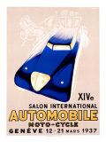 Salon Auto Geneve Giclee Print by Edward Henry Grin